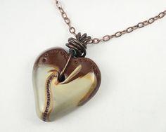 Chocolate Heart Pendant