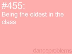 This technically is true in hip hop!!! I'm the oldest.....