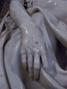 Pieta/hand detail