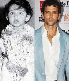 #Hrithik Roshan, as a child artist, acted in films like Aap Ke Deewane and Bhagwan Dada. He later made his debut as a lead actor in the year 2000 with Rakesh Roshan's Kaho Na Pyaar Hai.
