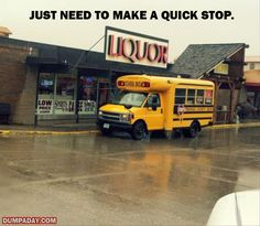 Funny Pictures Of The Day  69 Pics Short Bus, I Love To Laugh, School Buses, School Bus Driver, School Humor, Bus Humor, Driving Humor, Humour, Haha Funny