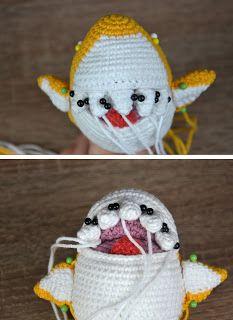 Ravelry: Baby Shark amigurumi pattern by Ami Little Creature | 320x233
