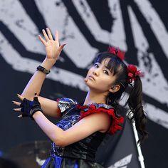 Moametal of Babymetal perform... | Celebrities | FirstLook Celebrity Photos