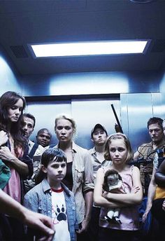 Season 1 CDC. Half of these people are dead. Carl is so little!