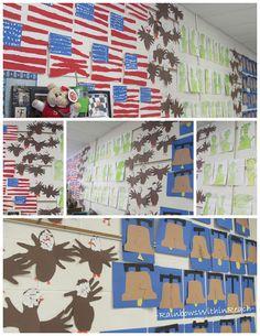 Kindergarten Social Studies, Teaching Social Studies, Kindergarten Activities, National Symbols Kindergarten, Kindergarten Teachers, Classroom Activities, Memorial Day, Patriotic Symbols, Patriotic Crafts