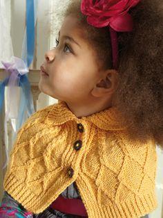 Ravelry: Louisa pattern by Sarah Hatton (Rowan) Creative Knitting, Knitting For Kids, Baby Knitting Patterns, Knitting Projects, Knitting Ideas, Knit Or Crochet, Crochet For Kids, Crochet Baby, Wrap Pattern
