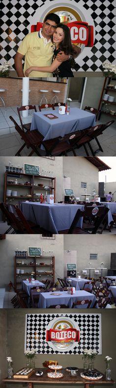 Chic Titi: Chá Bar Thynara e Jonathan - Boteco