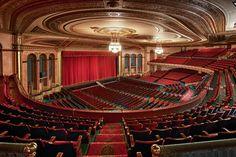 The Detroit Masonic Temple - Inside.