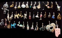 Rare Pilgrim Jewellery Charms