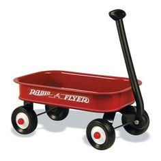 Radio Flyer Little Red Wagon!
