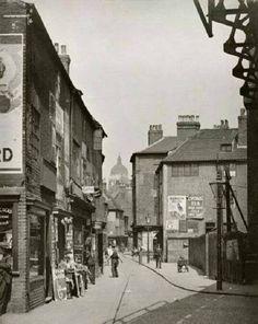 Ye olde streets of Nottingham