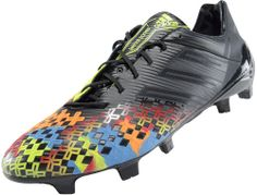 adidas Predator LZ TRX FG SL Soccer Cleats - Black with Solar Slime...Now at SoccerPro.