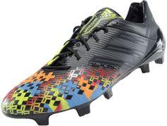 adidas Predator LZ TRX FG SL Soccer Cleats - Black with Solar Slime...Now at SoccerPro.