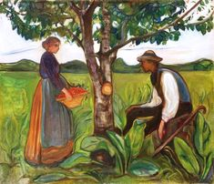 Edouard Munch, Fertility/Fruitfulness, 1898