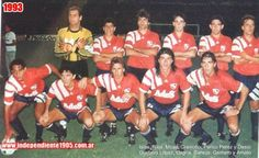 1993 Club Atletico Independiente de Avellaneda Messi, Gustavo Lopez, National League, Competition, Football, Retro, Club, The World, Football Team