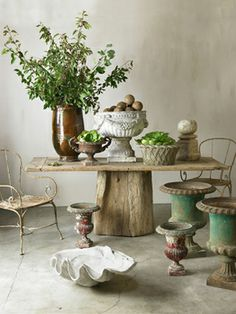 garden containers and urns