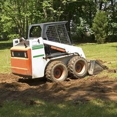 landscaping equipment - skid-steer loader