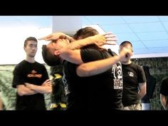 KRAV MAGA TRAINING • How to counter hook punches in street fights {with sub-titles} Just in case I ever need to know...and can't run away fast enough in heels :-)