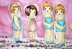 1920s Inspired Reproduction Baby Doll by by DollfaceBettys on Etsy, $4.99