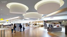 Loud and Clear: Nokia Alcatel-Lucent Calls on DEGW Italia for Milan Campus. The much larger cafeteria for 1,200. #office