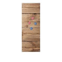 Tablica magnetyczna z magnesami Trendform Wood - CzerwonaMaszyna.pl