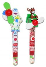 Rudolph and Bumble Candy Fans: This play action fan is filled with tart candy bits. #Rudolph #ShineBright