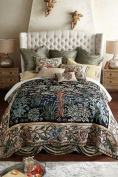Tree Of Life Tapestry Coverlet - Garden Coverlet, Tree Of Life Coverlet | Soft Surroundings