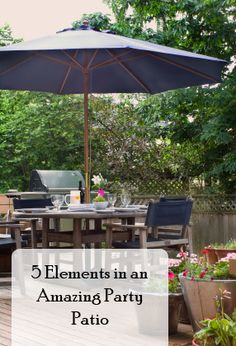 Fun ideas to liven up yoru patio.