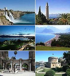 Turkey Tourism is one of the most varied in Europe. Is turkey in Europe or Asia? Well, it's in both continents. A small part of the country is in Europe and the larger part in Asia. Antalya, Turkey Tourism, Natural Preservatives, Cool Countries, Most Visited, Amazing Destinations, Asia Travel, Wonderful Places, Continents