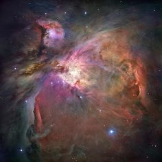 The Hubble Space Telescope - Orion Nebula Credit: NASA,ESA, M. Robberto (Space Telescope Science Institute/ESA) and the Hubble Space Telescope Orion Treasury Project Team Cosmos, Hubble Space Telescope, Space And Astronomy, Telescope Images, Nasa Space, Galaxy Space, Fotos Do Hubble, Stars Night, Photo Print