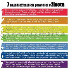 7 najdôležitejších právd v živote.