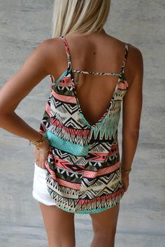 Cute top, love the back