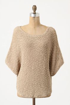 Anthropologie Slouched Stitches Pullover