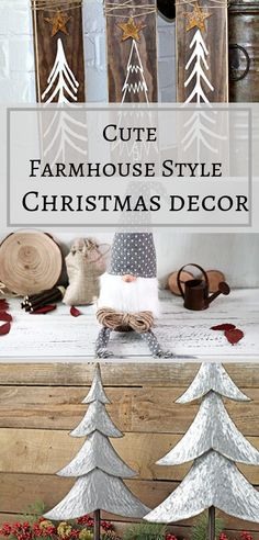 Christmas is right around the corner & it's time to get our home all dolled up for this festive holiday. Farmhouse style decorating has been very popular this year and most likely is going to stick around for a few more years. I can see why it's a refreshing look crisp & chic. That's why rustic farmhouse Christmas decor is a must this year. And I have found some very cute farmhouse style Christmas decor that will incorporate very nicely with the farmhouse look.  #farmhousedecor #christmasdecor Farmhouse Christmas Decor, Farmhouse Style Decorating, Christmas Home, Holiday Festival, Holiday Fun, Festive, Home Wall Art, Wall Art Decor, Cute Home Decor