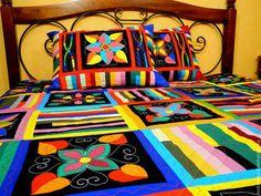 лоскутное одеяло с аппликациями УЮТНЫЙ ДОМ 2 - лоскутное одеяло,Лоскутные одеяла