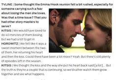 Emma/Hook Once - CaptainSwan_Kiss reunion felt a bit rushed,