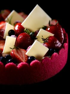 Understanding French Desserts - Useful Articles French Desserts, Just Desserts, Delicious Desserts, Dessert Recipes, Gourmet Desserts, French Food, Plated Desserts, French Patisserie, French Pastries