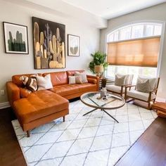 Machine Washable Rugs (@ruggable) • Instagram photos and videos Living Room Decor, Living Spaces, Living Rooms, Leather Living Room Furniture, Machine Washable Rugs, Leather Sectional, Best Sofa, Living Room Inspiration, Apartment Living