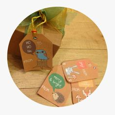 Ashley Thunder Events: RUSTIC WOODLAND HOLIDAY GIFT TAGS ***FREE PRINTABLE***