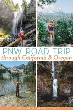 Oregon Road Trip, Road Trip Usa, Oregon Travel, California Travel, Northern California, Travel Inspiration, Travel Ideas, Travel Tips, Tahoe City