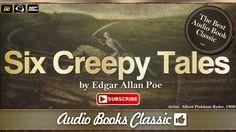 Six Creepy Tales by Edgar Allan Poe | Full Version | AudioBooks Classic