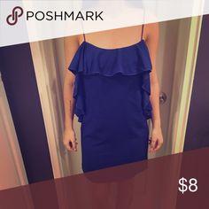 Forever 21 Forever 21 never worn royal blue dress Forever 21 Dresses