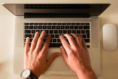 Escritório, Trabalhando, Computador, Comprimido, Ipad
