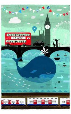 illustrations of London