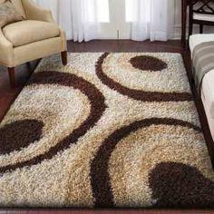 Piękny, mięciutki dywan shaggy