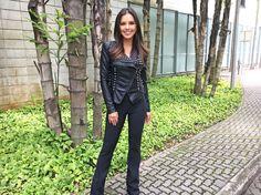 Mariana Rios conta que aproveita dicas dos técnicos do 'The Voice' para seus shows: 'Tento aprender com eles' (Foto: )