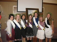 YW in excellence, I like the sashes and laurel wreaths to honor girls who finished personal progress.