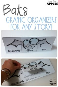 Use these lift-the-flap graphic organizers for any fiction or nonfiction book about bats!