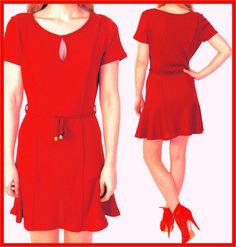 Trace o molde deste vestido, super charmoso, utilizando a base da Blusa Feminina      O charme deste vestido está no recorte evasê, mais am...