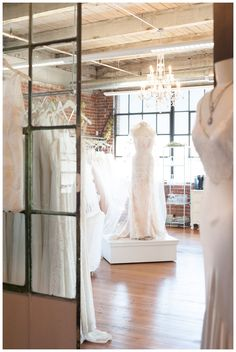 A gorgeous little peek into Denver's prettiest bridal boutique, SJ stockist Emma & Grace Bridal Studio